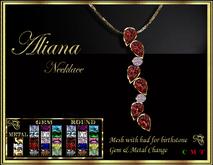 RJ Aliana Necklace - Gemstones hud