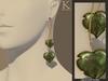 (Kunglers) Milena earrings - Tourmaline