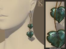 (Kunglers) Milena earrings - Teal