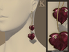 (Kunglers) Milena earrings - Grape