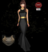 M&M-MERINILLO GOWN WITH NECKLACES