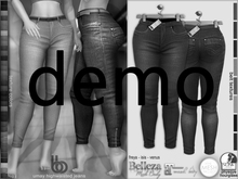 Bens Boutique - Umay High Waisted Jeans - Hud Driven Demo