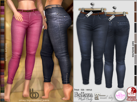 Bens Boutique - Umay High Waisted Jeans - Hud Driven