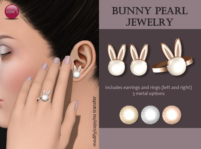 Izzie's - Bunny Pearl Jewelry