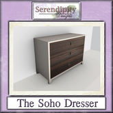 Serendipity Designs - Soho Bedroom - Dresser