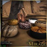 =Mirage= Safari Poufs
