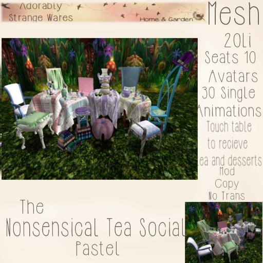 ~ASW~ The Nonsensical Tea Social~Pastel