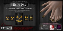 DP - Koffin Nails - FatPack -  Glitter Jack O Lanterns (Boxed)