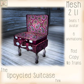 ~ASW~The Upcycled Suitcase~Pink