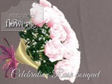 p-a-b celebration rose bouquet pink