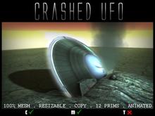 imMESHed - Crashed UFO