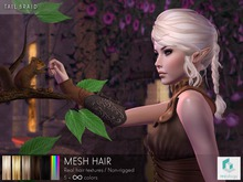 rezology Tail Braid (mesh hair)