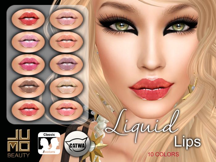 .:JUMO:. Liquid Lips - CATWA Heads