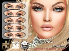 .:JUMO:. Devon Eyebrows - Catwa Heads