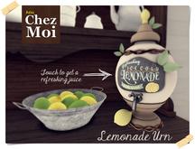 Lemonade Urn Leeloo ♥ CHEZ MOI