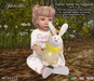 """Aphrodite Easter toy """"lights of joy"""" bunny with multi animations menu"""