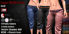 GAS [Capri MESH Pants Avril - 11x11 Colors with HUD]