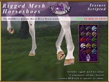 *E* RealHorse Rigged Horseshoes [BOXED]  RHQH