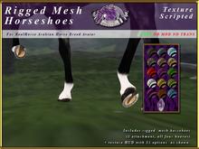 *E* RealHorse Rigged Horseshoes [BOXED]  RHAB