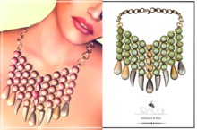 Salome Necklace Meadow by Tracei