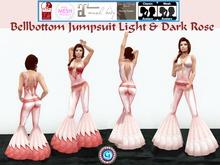 G * Bellbottom Jumpsuit Rose