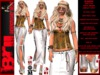 **GLAUCIA WHITE VERSION BOHO STYLE COMPLET OUTFIT **