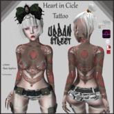 **UrbanStreet**HeartinCicle Tattoo