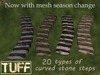 [TUFF] Stone Steps Curving - Complete Pack