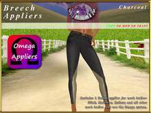 *E* Breeches Omega Applier [BOXED] Charcoal