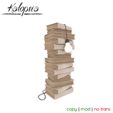 - Kalopsia - Book Pile Lamp