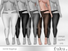 [.fuku.] lannie leggings (brown) *OMEGA ONLY*