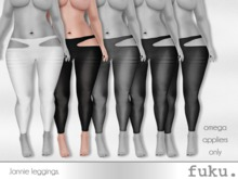 [.fuku.] lannie leggings (black) *OMEGA ONLY*