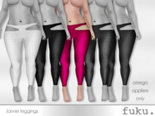 [.fuku.] lannie leggings (pink) *OMEGA ONLY*