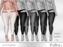 [.fuku.] lannie leggings (white) *OMEGA ONLY*