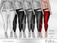 [.fuku.] lannie leggings (red) *OMEGA ONLY*