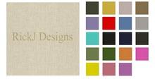 RJD Linen Fabrics Seamless (20 colors)