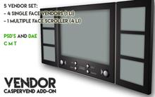Full perm VENDOR set - Add-on for Caspervend