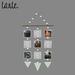 tarte. triangular picture hanger (dark mint)