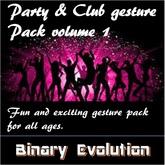 Party & Club Gesture pack volume 1