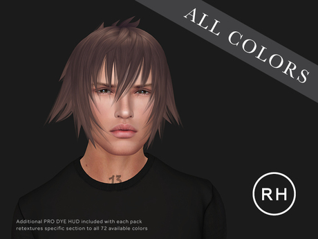 RAW HOUSE :: Noctis Hair [All Colors]