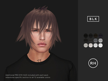 RAW HOUSE :: Noctis Hair [BLK]