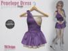 Penelope dress purple product photo