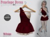 Penelope dress red product photo