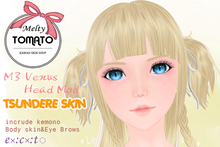 Melty TOMATO* TSUNDERE SKIN for M3 venus head mod skin