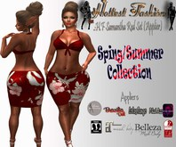.:H.F Samantha Red Set (Applier)