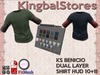 KS BENICIO DUAL LAYER SHIRT hud 10+11