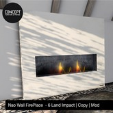 Concept}* Nao Wall FirePlace