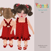..MoMenTs..Spring Outfit [Red]Toddleedoo