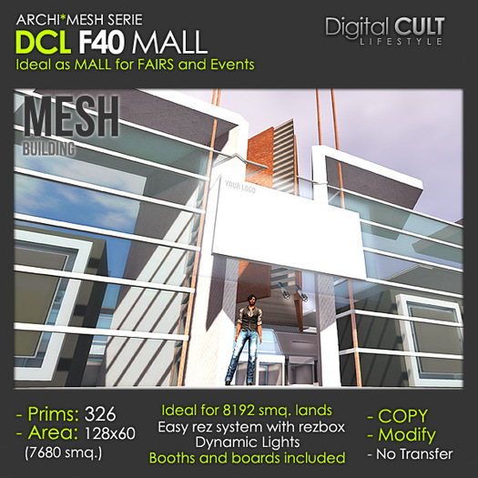 DCL F40 Mall for events