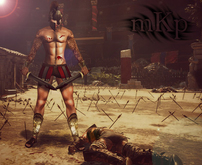 "Combat Pose: ""Warrior"" by MKP"